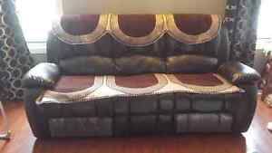 Recliner 3pcs sofa and love seat Cambridge Kitchener Area image 3