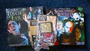 A Touch of Evil board game + Something Wicked, Heroes Pack 1&2