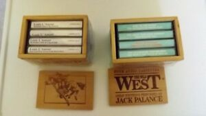 8 Audio Cassettes with Classic Western Stories