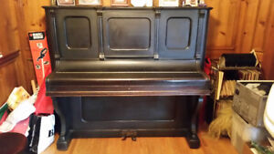 Antique Bell Upright  Piano ($150 O.B.O/Pick-up Only)
