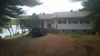 LARGE Summer Cottage for Rent - Lakeside on Lac Cayamant
