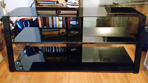 Glass TV Stand - Like NEW! REDUCED PRICE!