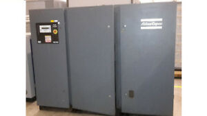 Atlas Copco GA110 150HP Air Compressor Great Machine Great Deal