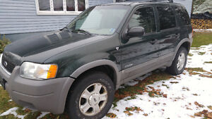 2001 Ford Escape LX SUV, Crossover ALL OFFERS CONSIDER