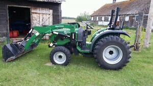 38 hp 4wd diesel tractor for sale