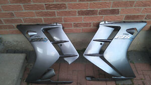 2001-2005 Yamaha fjr lower fairings, left and right.