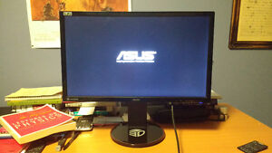 """ASUS VG248QE Black 24"""" Gaming Monitor For sale 150$"""