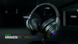 Razer KRAKEN 7.1 Chroma en très bonne condition! Headset Gamer