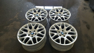 BMW STYLE 197. 18 INCH RIMS. 5X120. STAGGERED