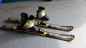 Rossignol Nordica skis + Shoes - size 7.5 - 8