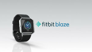 Brand-new sealed Fitbit Blaze on sale! $50 off from retail price