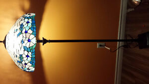 very nice stained glass floor lamp
