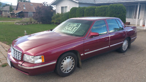 1998 Cadillac DeVille Grandpa owned  Mint 99000 kmFIRM>FIRM>FIRM