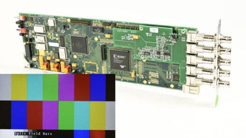 Evertz 7750TG2-HD Dual HD-SDI Test Signal Generator with Embedded Audio