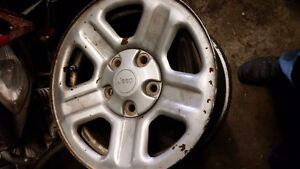 Jeep Wrangler 2009 and up rims London Ontario image 1