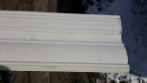MDF CROWN MOLDING TRIM PAINTED WHITE