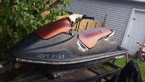i have a 1995 sea doo 657x with a trailer