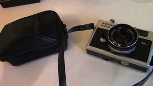 Ricoh 500 G Vintage Camera, with Case
