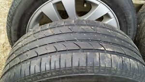 Summer tires on BMW wheels Cambridge Kitchener Area image 3