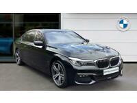 2018 BMW 7 Series 740Le xDrive M Sport 4dr Auto Saloon Saloon Petrol/PlugIn Elec