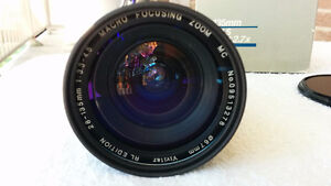 Vivitar 28-135mm F3.3-4.5 with 67mm Clear Filter London Ontario image 1