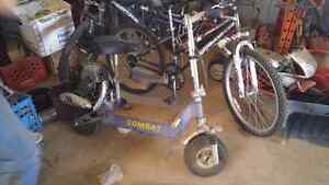 2 stroke Gas Scooter 40cc