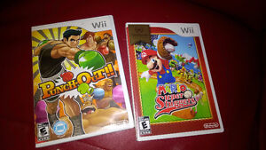 Punch-out  wii mario super sluggers