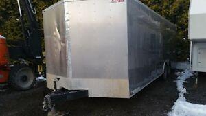 Cargo trailer car hauler 24' Forest River 2015