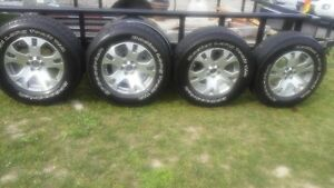 17 in. Alloy Wheels and Tires
