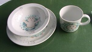 Royal Worcester Cabbage Patch dinnerware