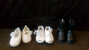 Baby Girl shoes ($20 for ALL)