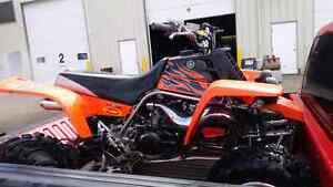 2008 Yamaha Banshee 350 TRADE FOR AUTOMATIC QUAD Strathcona County Edmonton Area image 2