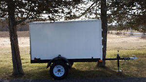 Light weight brand new 8 x 5 enclosed cargo trailer