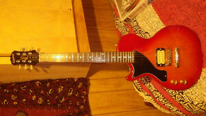 Left handed Modified Epiphone Les Paul Special