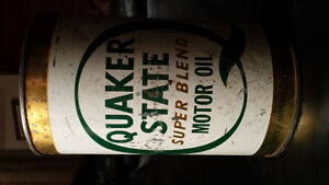 2 Quaker State Motor Oil Cans London Ontario image 3