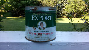 MacDonald's Export Tobacco Tin