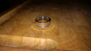 Birks silver ring size 6 1/2