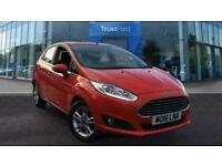 2016 Ford Fiesta 1.0 EcoBoost Zetec 5dr With Interior Ambient Lighting Manual Ha