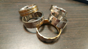 Mens stainless rings