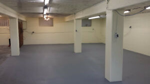 1700 & 2500 Sq ft Areas in Warehouse - Available
