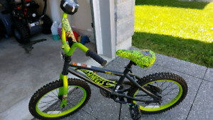 "18"" Hot Wheels Boys Bicycle"