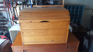 Canadian made wood hope chest