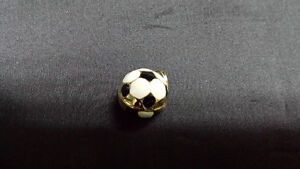 GOLD SOCCER BALL PENDANT