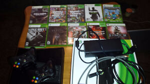 Xbox 360 games included
