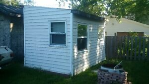 6 x 12 shed, ice hut, bunkie