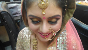 Makeup, hair and henna by  mkdhindsa.  6479178294