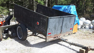 4X8 Towing Trailer