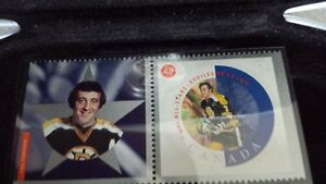 REDUCED!!  NHL STAMP / MEDALLION /  LITHOGRAPH / CARD COLLECTION