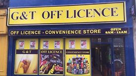 Business Off-licence for sale