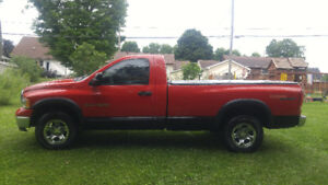 Dodge Ram 1500 Reg Cab 8Ft Box 2005